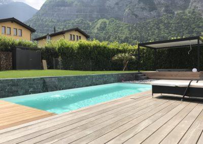 Piscine et aménagements en Valais